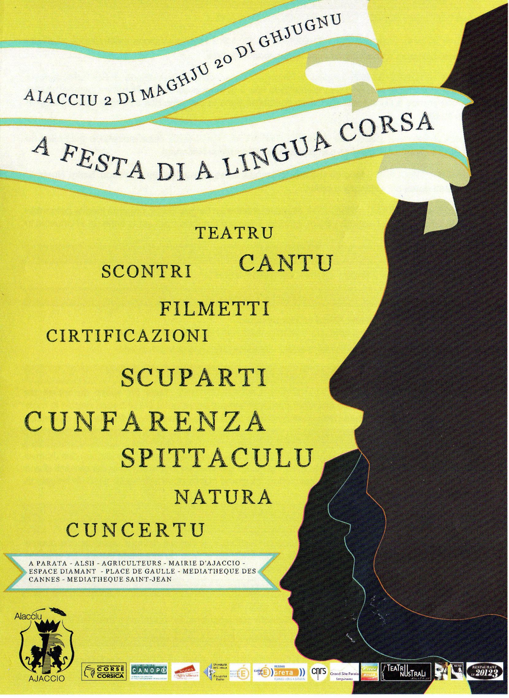 Aiacciu: A festa di a lingua Corsa