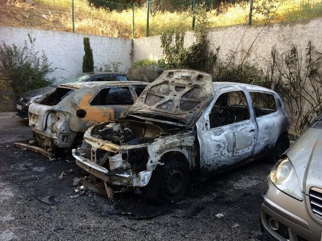 Quatre véhicules incendiés dans une résidence à l'Ile-Rousse