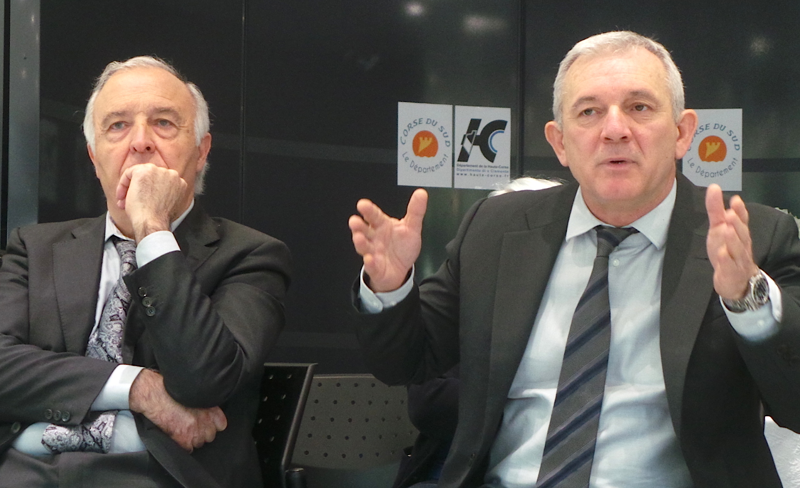 Pierre-Jean Luciani et François Orlandi