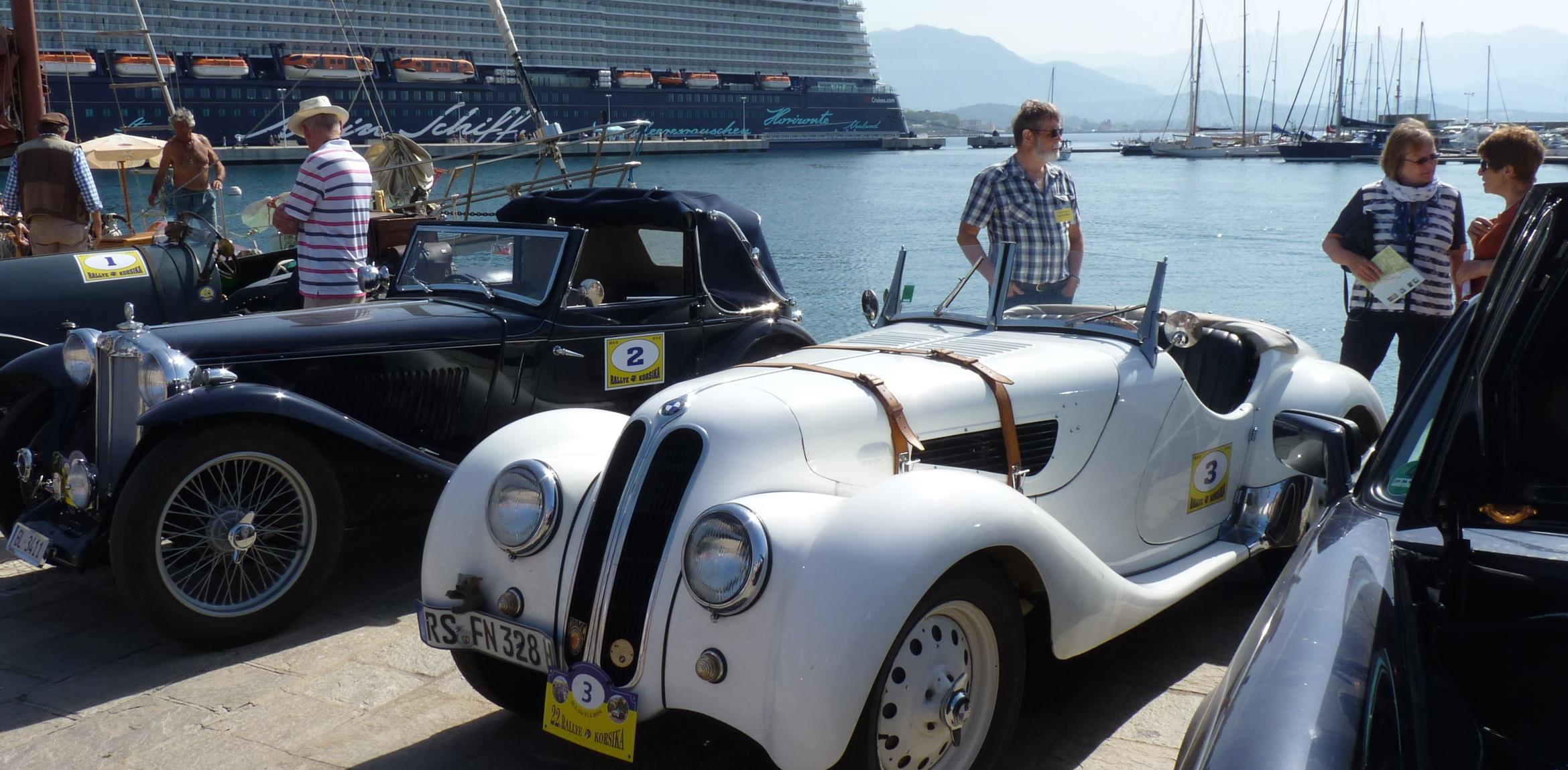 Rallye Korsika : Les « belles anciennes » tiennent la route