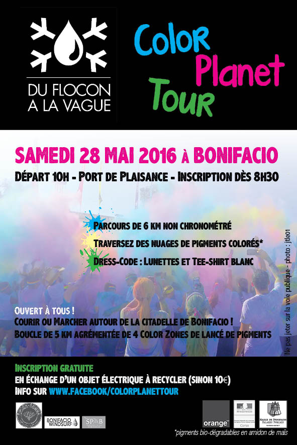Bonifacio : Color Planet tour au programme du jour