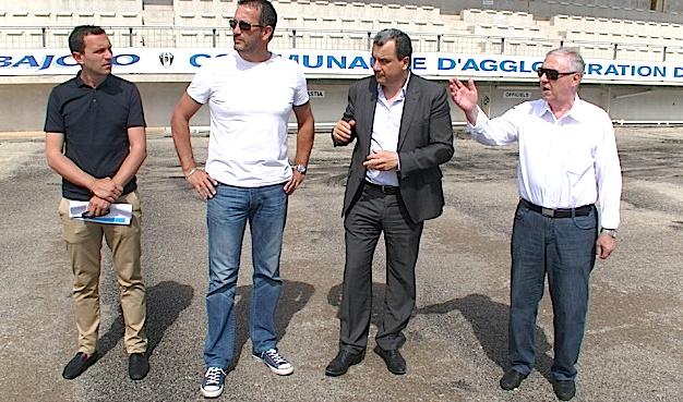 Bastia : Le stade d'Erbajolo fait peau neuve