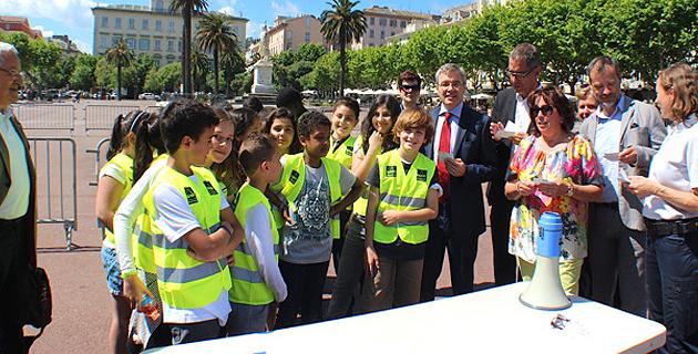 Semaine du Vélo à l'école et au collège : Bastia avant Biguglia