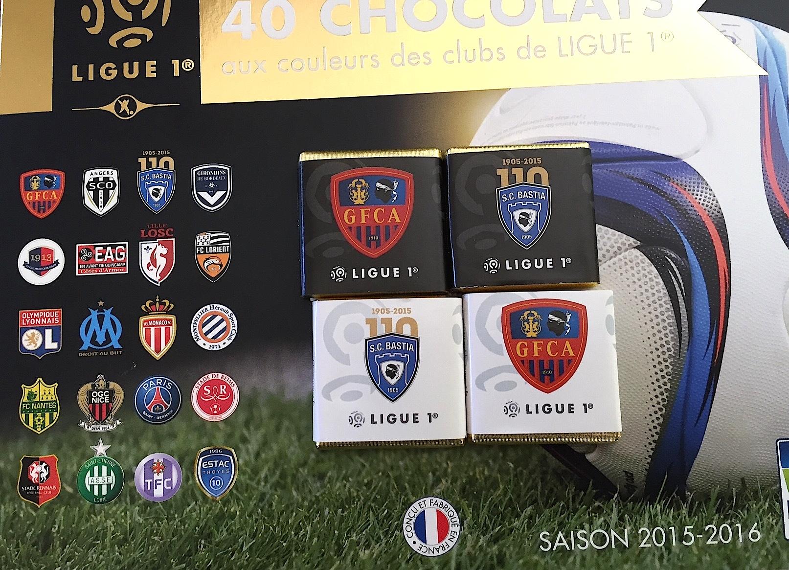Football : La Ligue 1 est en… chocolat !
