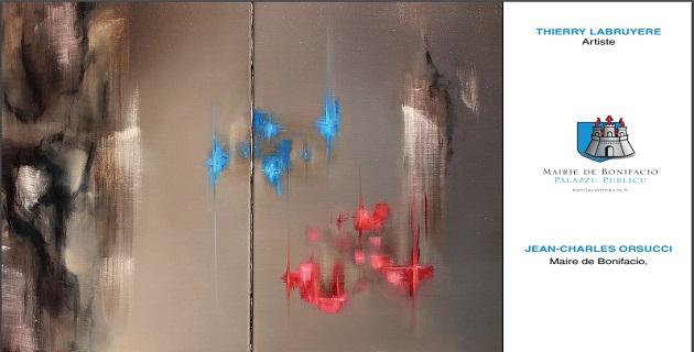 Vernissage de l'exposition de l'artiste Thierry Labruyère à l'espace Saint Jacques à Bonifaccio