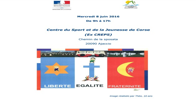 """Rendez-Vous de la Laïcité : """"Vivre ensemble leurre ou réalité ?"""" au CSJC de Corse"""