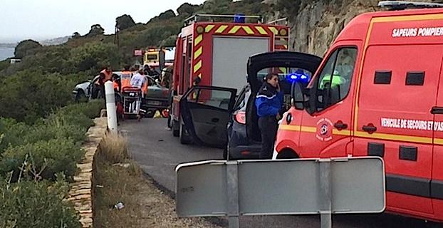 Collision à Lumio : Quatre blessés dont un grave
