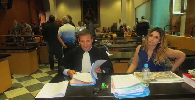 L'avocat de la défense, Me Jean-Sebastien de Casalta.