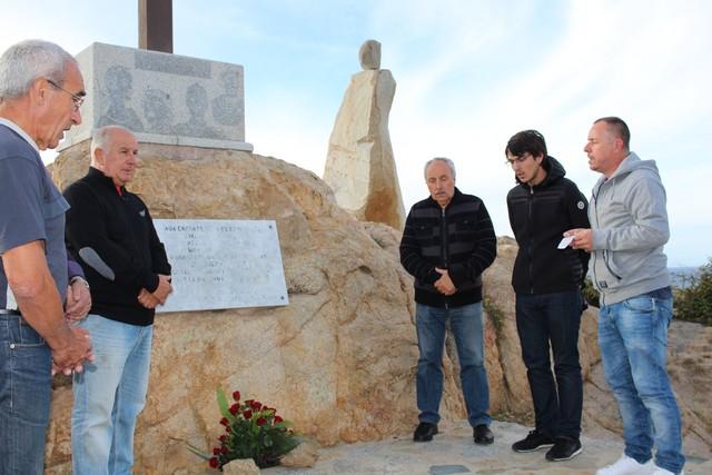 """A Calvi, hommage des confrères de Saint Erasme aux 417 victimes du """"Balkan"""""""