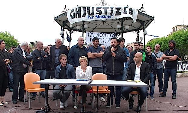 Bastia : « Ghjustizia è verita per a nostra ghjuventu » appelle à la mobilisation