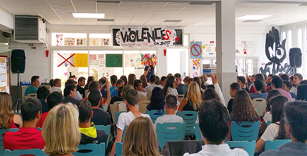 Semaine de sensibilisation auprès des élèves du collège de Cervioni