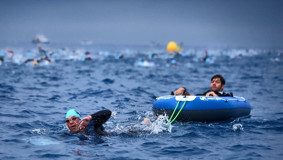 Ironman de Nice : L'exploit de Christophe Santini et de Kevin