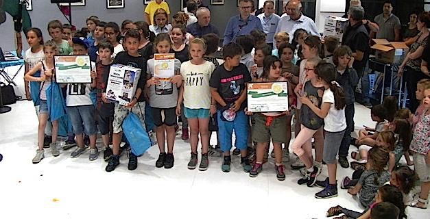 Bastia : Les trophées du développement durable remis à des jeunes scolaires de Haute-Corse