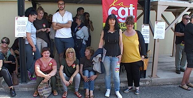 Bastia : Grogne des salariés CGT de la CODIM