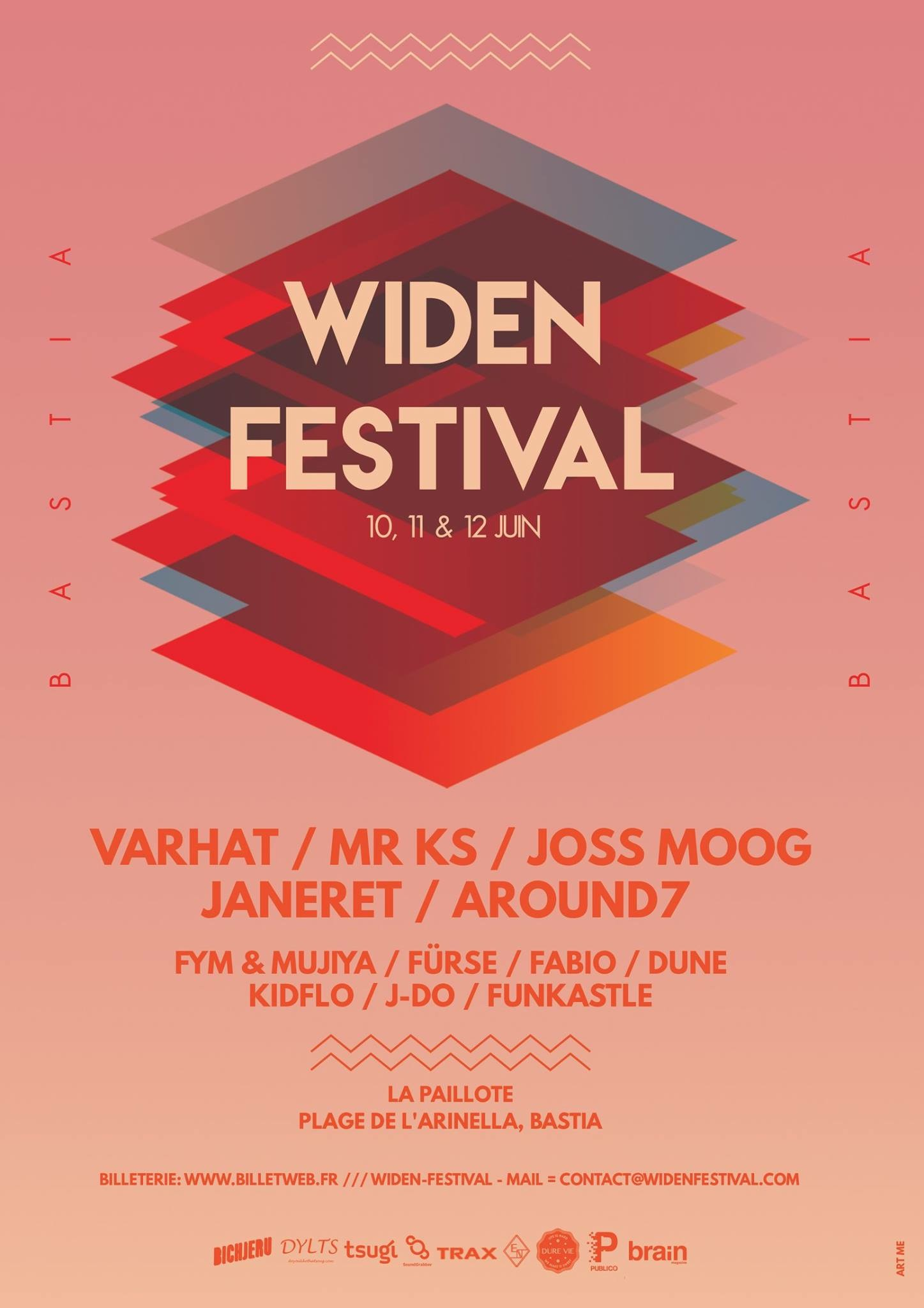 Widen Festival  : 3 jours de techno à Bastia