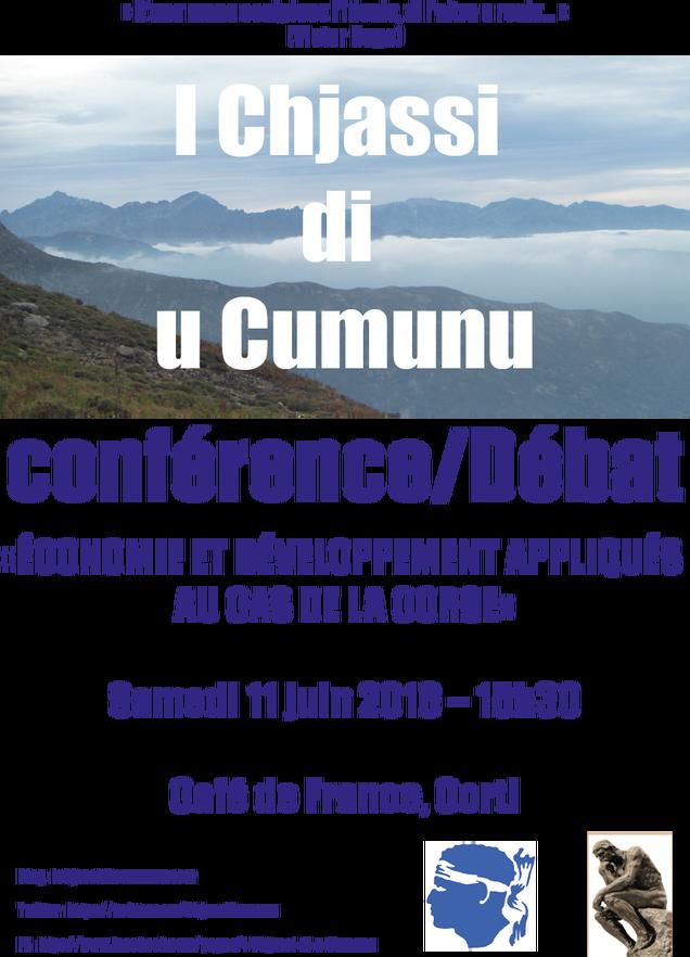 """""""I Chjassi di u Cumubu"""" : Réunion à Corte"""