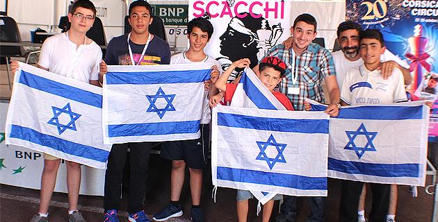 Echecs  : A Ghjustra europea di giovani à Israël