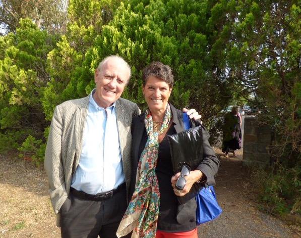 Le professeur Henri Joyeux ici avec son épouse Christine