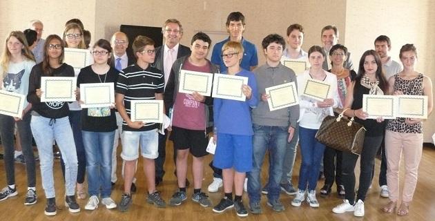 Les lauréats des Olympiades de mathématiques récompensés au rectorat de Corse