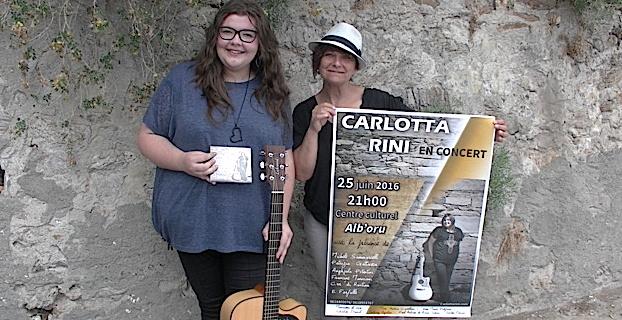 Bastia : Carlotta Rini en concert à l'Alb'Oru