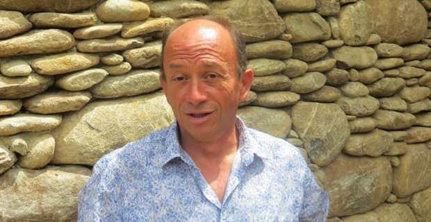 Louis Cesari, vice-président du syndicat AOP Oliu di Corsica et président délégué du SIDOC.