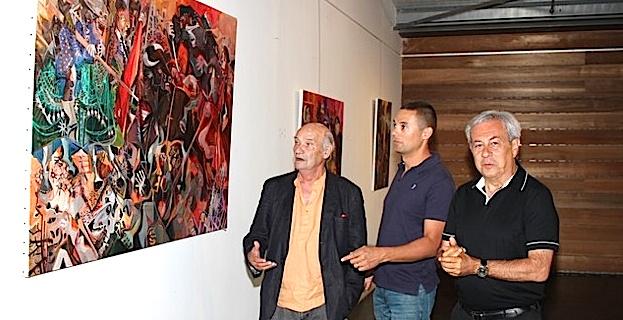 """A Lumio, l'artiste-peintre Chisa signe son retour en disant """"Au revoir Monsieur Picasso""""!"""