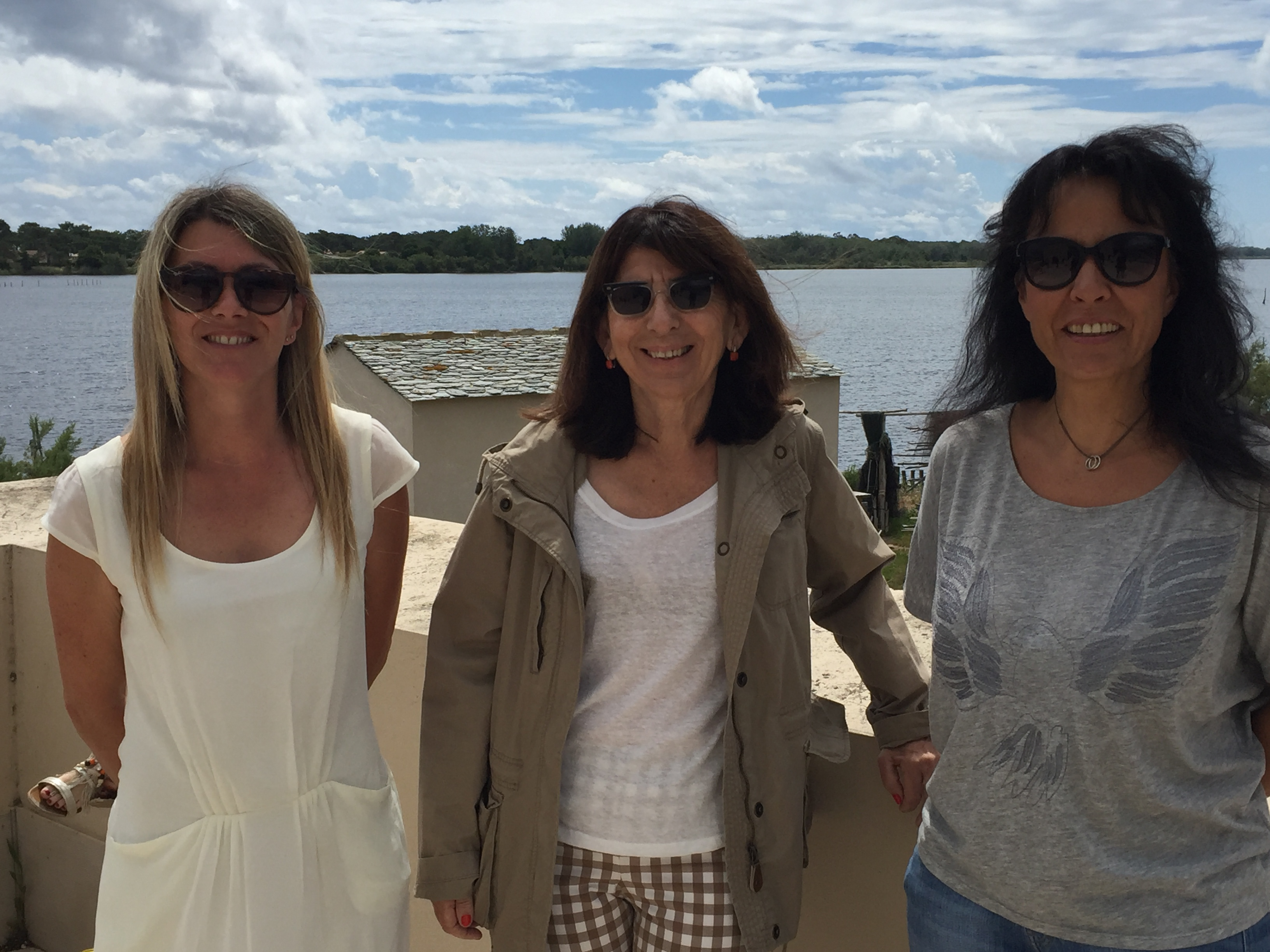 Muriel Beltran, Sylvie Retali-Andréani et Marie-Claire Poggi, conseillère départementales ont participé à la journée