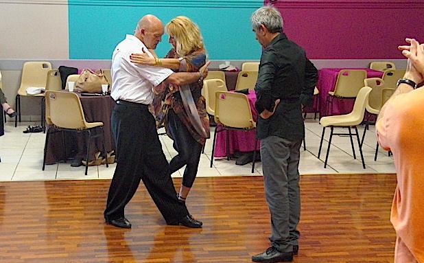 Quatre jours de tango argentin pour le premier festival international  de Borgo