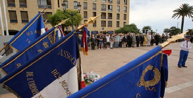 Ajaccio : Commémoration de l'appel historique du général de Gaulle