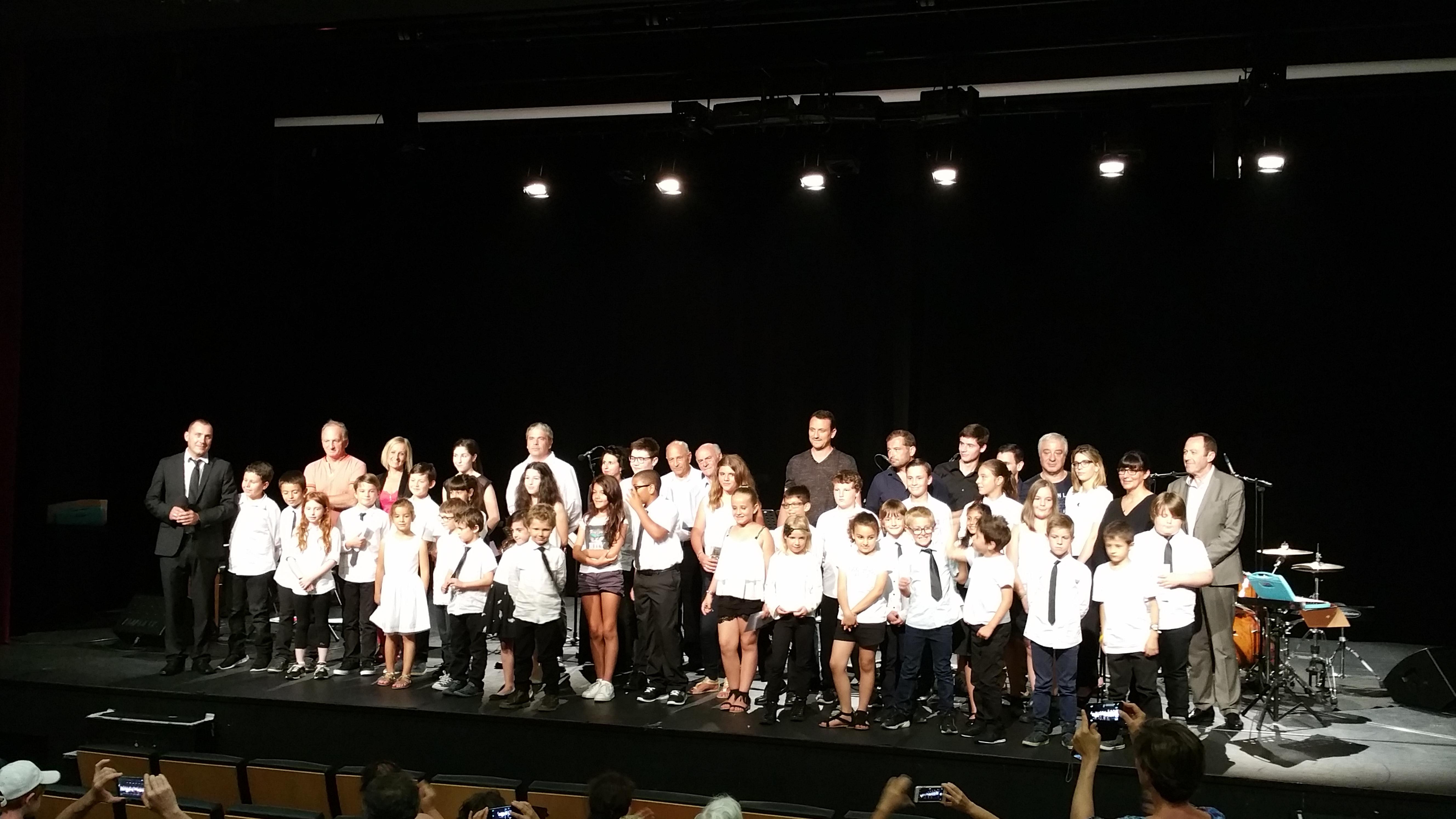 Clap de fin d'année pour l'école de musique municipale d'Ajaccio