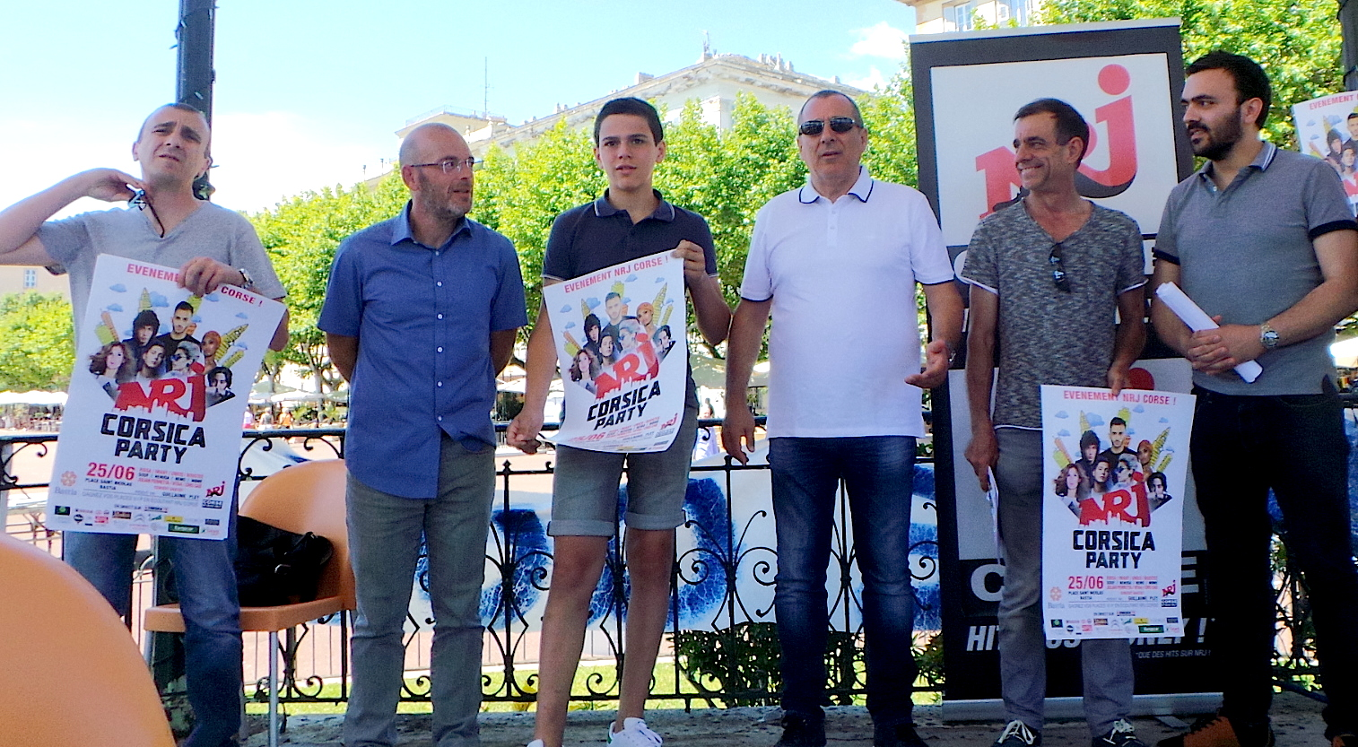 La Corsica party de NRJ : Samedi à Bastia