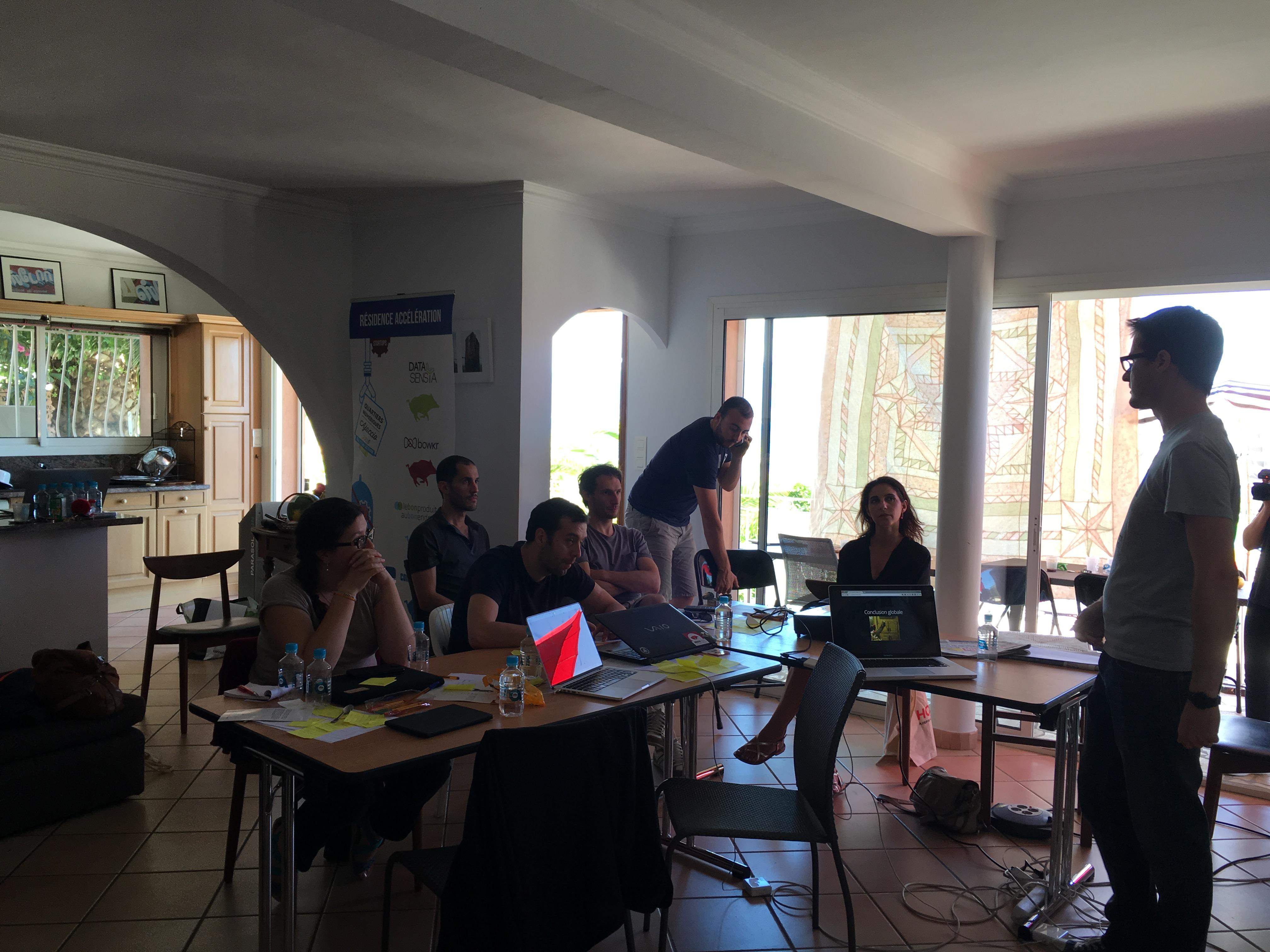 Ajaccio : Une résidence d'accélération de Startup dans le cadre des Quartiers Numériques