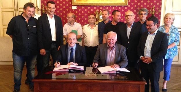 Partenariat Ville d'Ajaccio-BTP  Ensembles immobiliers : Appellation langue corse contrôlée !