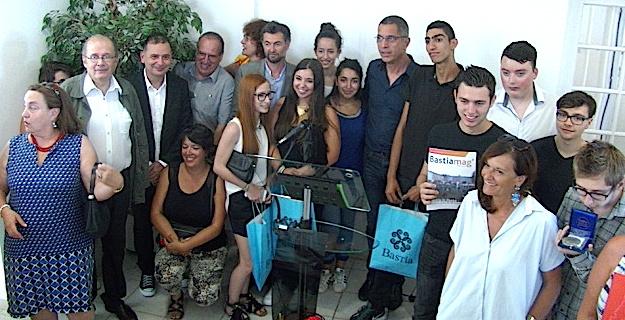 Bastia : Les élèves du lycée Jean-Nicoli, lauréats du prix de l'audace culturelle, récompensés