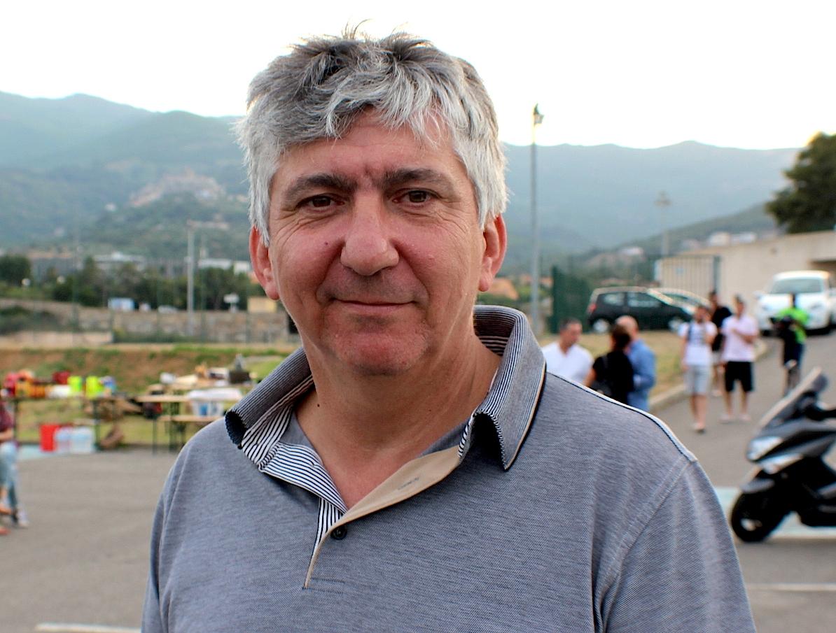 Denis Mathieu, nouveau président de Bastia XV