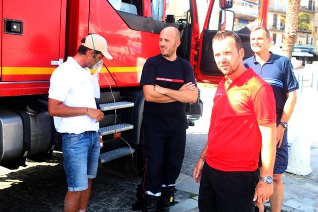 Court-circuit et début d'incendie sur un yacht au port de plaisance de Calvi