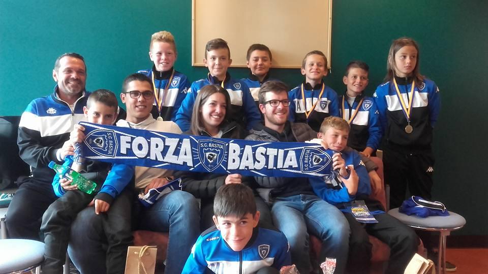 Edimbourg : Les U11 du SC Bastia raflent tout