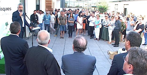 L'Apave Corse inaugure de nouveaux locaux à Furiani