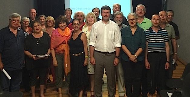 François Casasoprana veut fédérer avec la «Corse Sociale et Européenne»