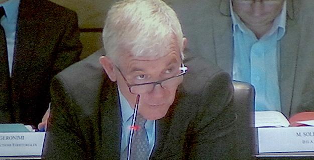 """François Orlandi :""""Soutien et confiance aux 2 cadres mis en examen"""""""