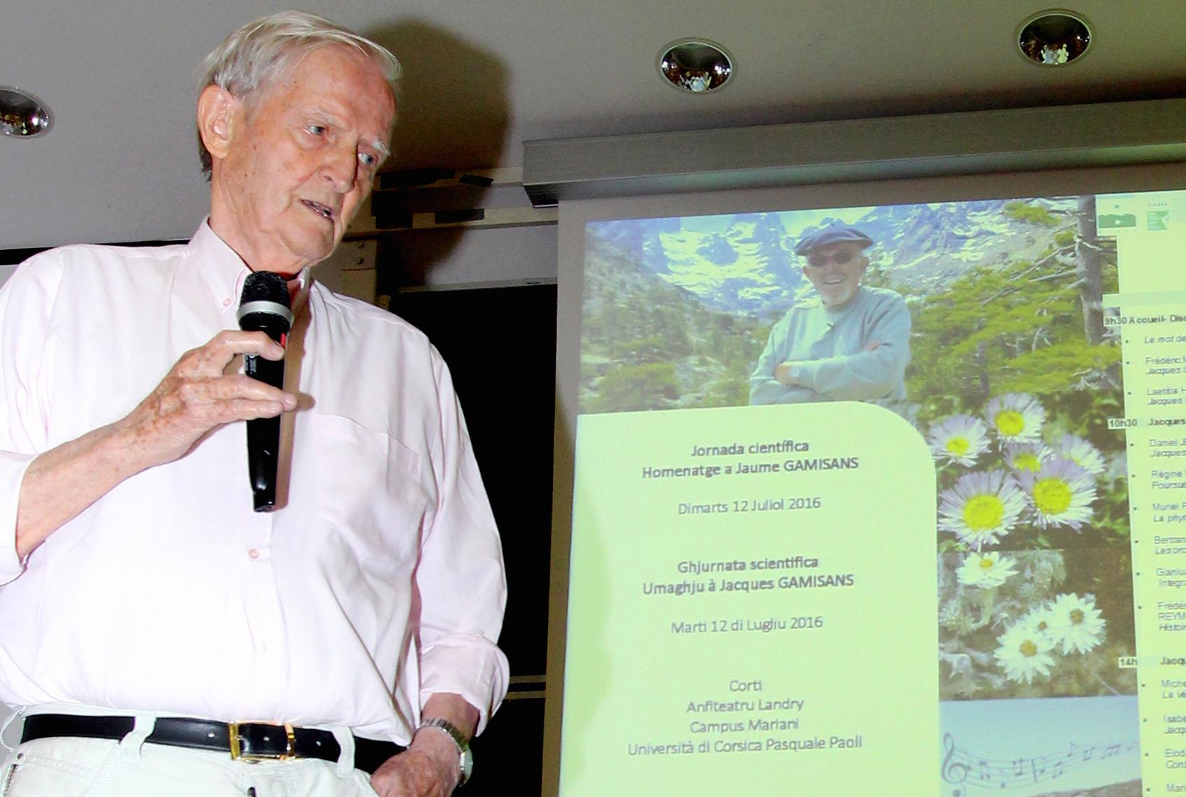 Corte : Une journée scientifique pour un bel hommage à Jacques Gamisans