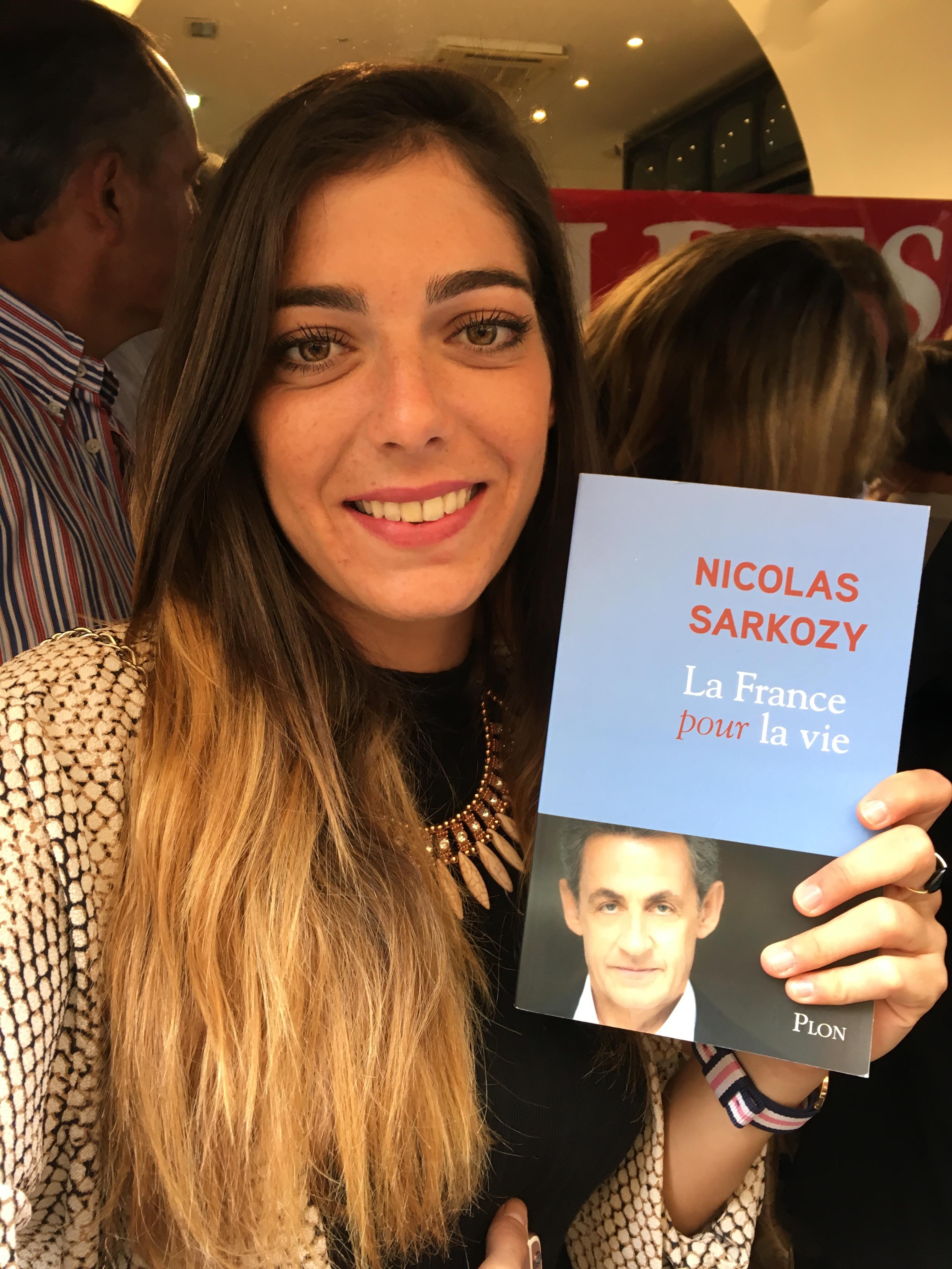 Marine Vinglin, membre des Jeunes Républicains de la Corse du Sud