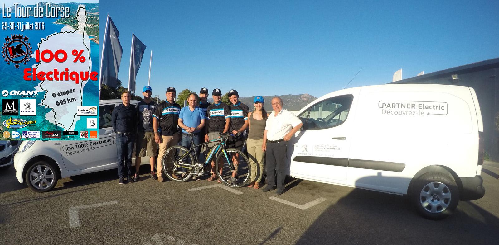 Première mondiale : Des vélos 100% électriques pour un tour de Corse inédit du 29 au 31 juillet !