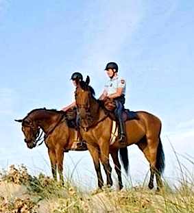Quenza : Le poste à cheval saisonnier de la Garde républicaine ouvert