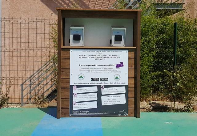 L'Ile-Rousse : Des bornes de recharge pour véhicules électriques