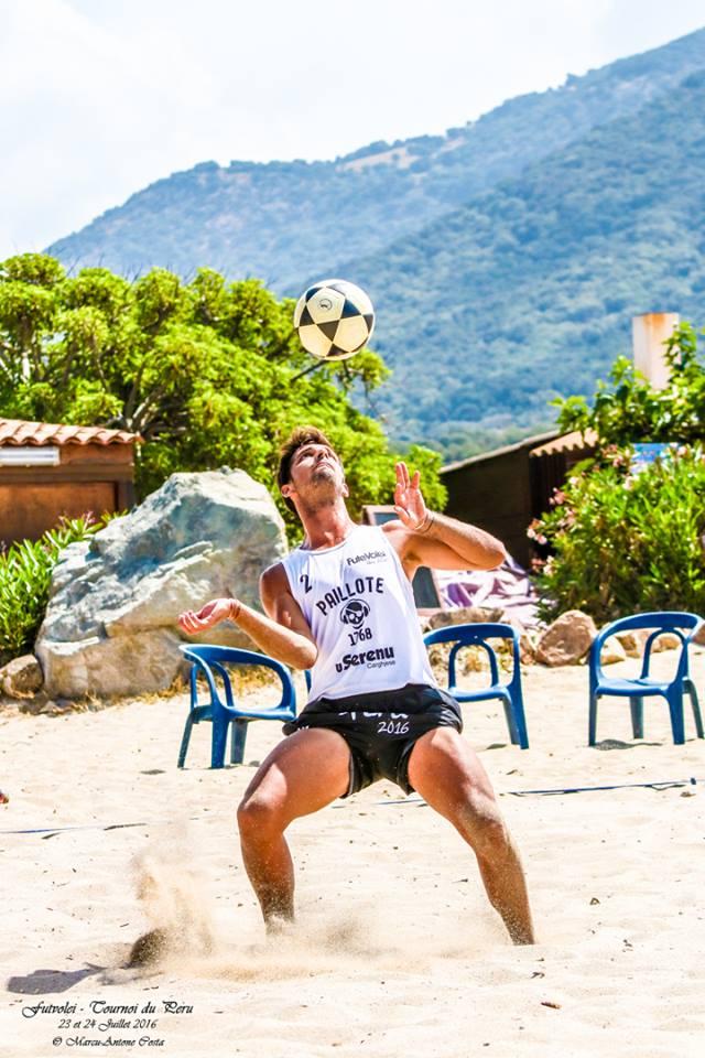 "Jean-Baptiste Baraglioli, dit ""Bara"", vainqueur du tournoi de Calcatoghju mais malchanceux au Peru."