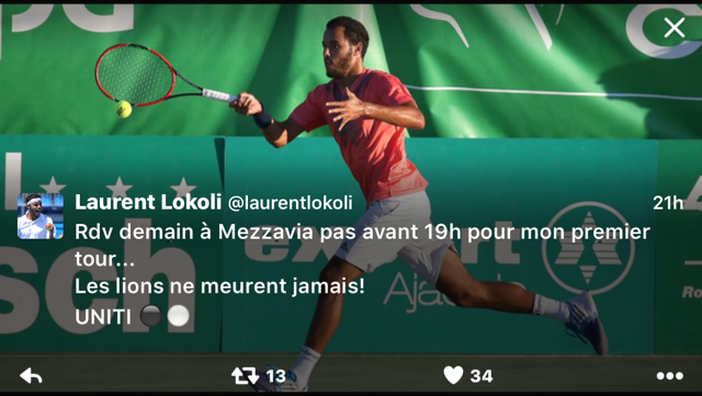 Open international de Mezzavia : Laurent Lokoli déchaîne les passions…