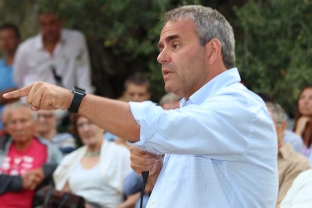 Xavier Bertrand le 28 juillet à Lumio
