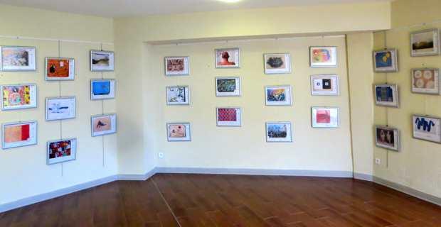 Exposition des photos représentant les 36 toiles.