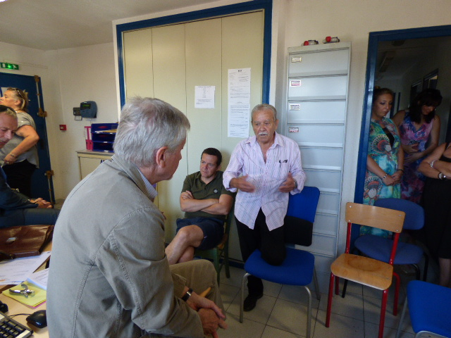 """"""" Nous ne sommes pas des sous citoyens"""" a déclaré Jacky Bartoli maire d'isolaccio."""